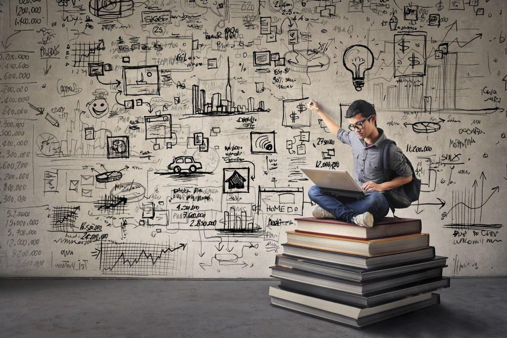 Ob die vielen Bücher bei der Entscheidungsfindung helfen?