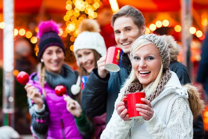 Zwanglose Weihnachtsfeier auf dem Christkindlesmarkt: Bedarf keiner so intensiver Vorbereitung
