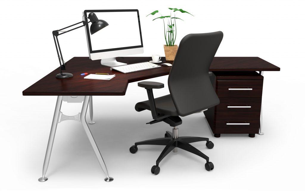 Schreibtisch, Bürostuhl, Ordnung? All das sollte als erstes überprüft werden, wenn es um einen gesunden Büroalltag geht. (#01)