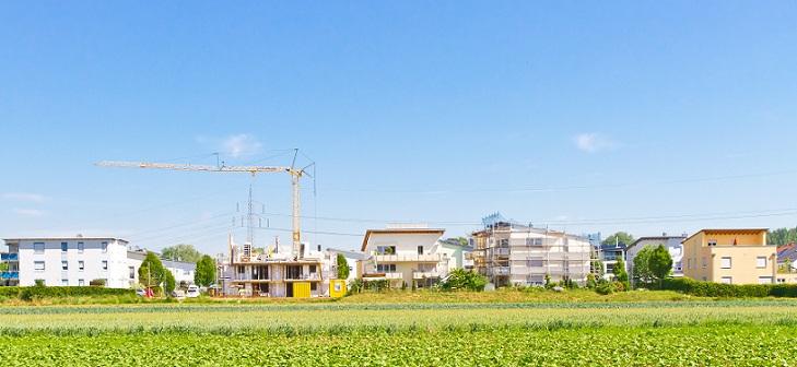 Die meisten Gemeinden , Städte wachsen durch Neubaugebiete, größere Gebiete für die Zusteller