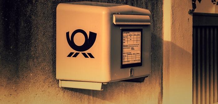 Vertrauensvoll werfen wir unsre Briefe in den Postkasten, nur wie lang dauert es bis sie zugestellt werden?
