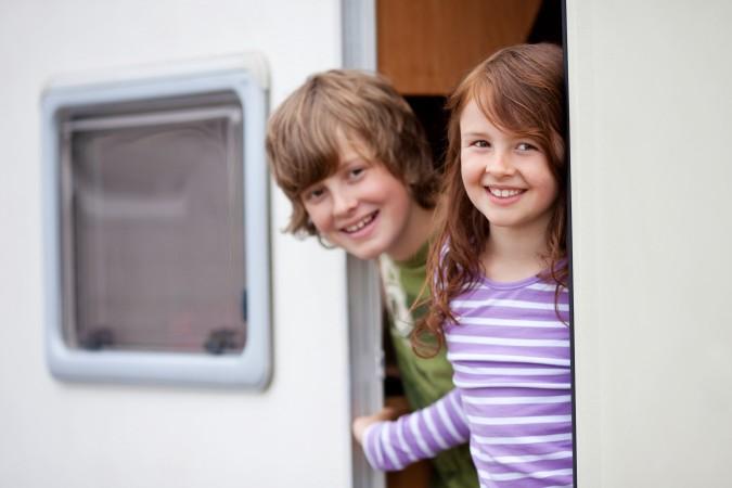 Camping im Mobilehome - ein großes Erlebnis für Kinder . (#2)