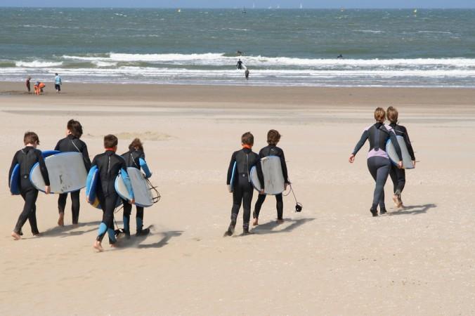 Der Job als Surflehrer ist am Atlantik natürlich prädestiniert. (#3)