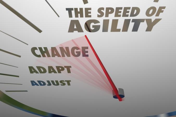 Das Tempo, mit der ein agiler Führungsstil in einem Unternehmen eingeführt wird, sollte wohl dosiert sein. Nicht jeder Mitarbeiter verträgt die gleiche Geschwindigkeit an fortschreitender Agilität. (#3)