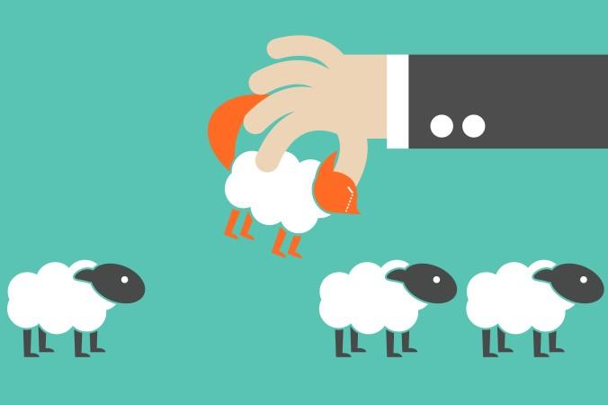 Nicht selten versteckt sich hinter eine vorgetäuschten Hilfsbereitschaft ein Hang zu Egoismus - es gilt ihn also bereits im Bewerbungsgespräch herauszufiltern: Den Wolf im Schafspelz. (#3)