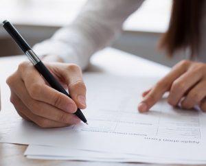 Bei einer Bewerbung auf Englisch gibt es lediglich das Anschreiben und den Lebenslauf. (#01)