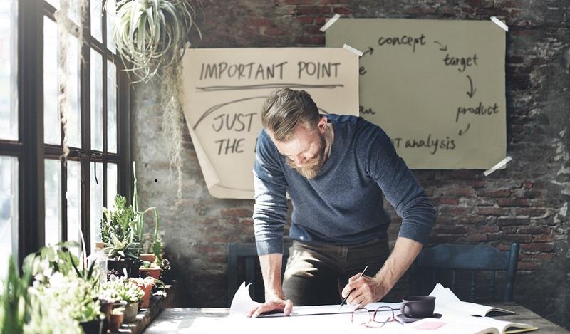 Die Geschäftsidee ist das Herzstück beim Businessplan schreiben und muss überzeugen. (#01)