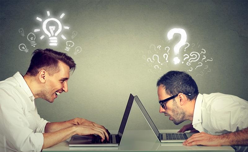 Eine amateurhafte Selbstdarstellung im Internet kann die Besucher der Homepage oder der Facebook-Seite abschrecken. (#01)
