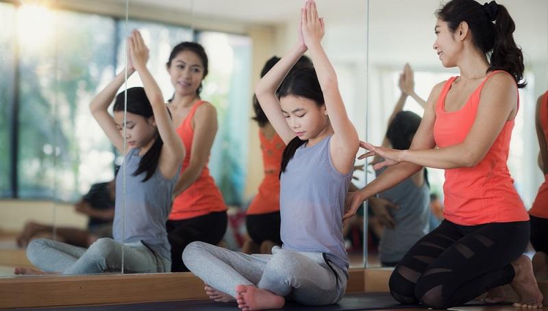 Yoga ist nicht nur für Erwachsene geeignet.(#03)