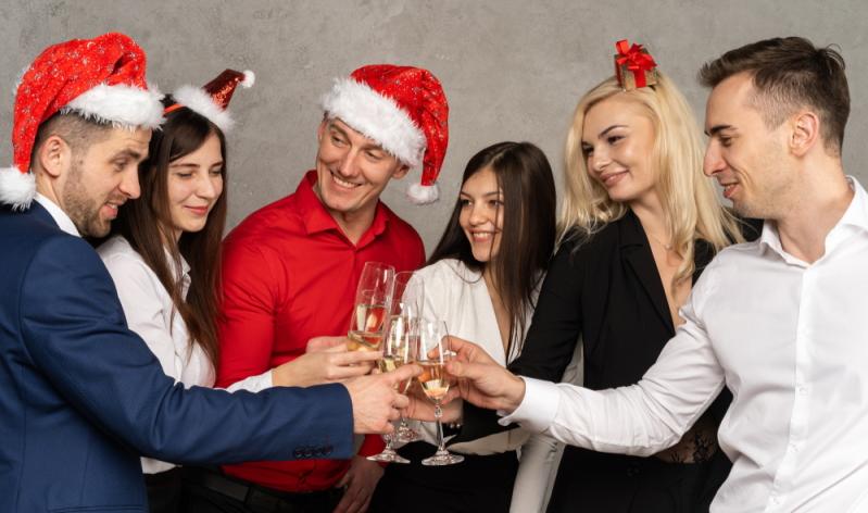 Party-Spiele: Auch für die betriebliche Weihnachtsfeier ein großer Spaß..