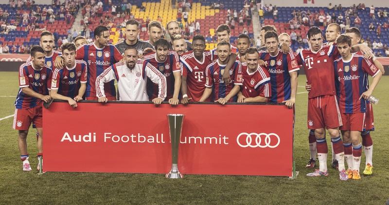 Spieler beim FC Bayern München Durchschnittsgehalt von 5,28 Mio. Euro im Jahr (#01)