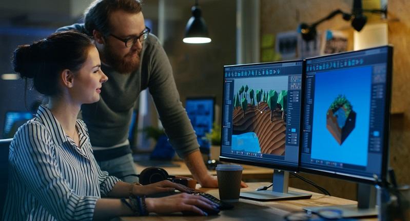 Früher waren Gamedesigner und Spieleentwickler Nischenberufe, in die nur wenige IT-Experten hineinpassten. Heute hat sich die Softwareindustrie zu einem echten globalen Player entwickelt. (#02)