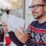 Weihnachtsgrüße: Geschäftspost mit Stil