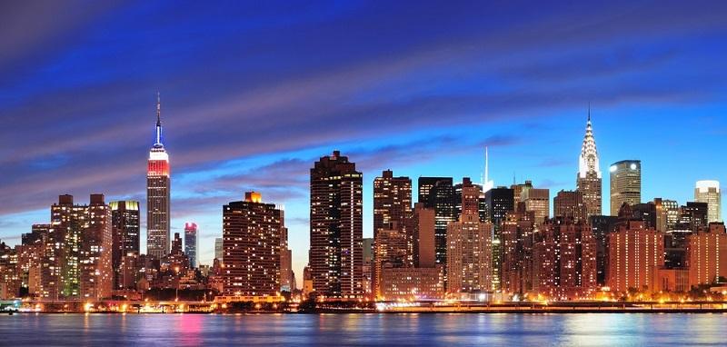 New York: 58 Euro Tagessatz (acht bis 24 Stunden: 39 Euro)
