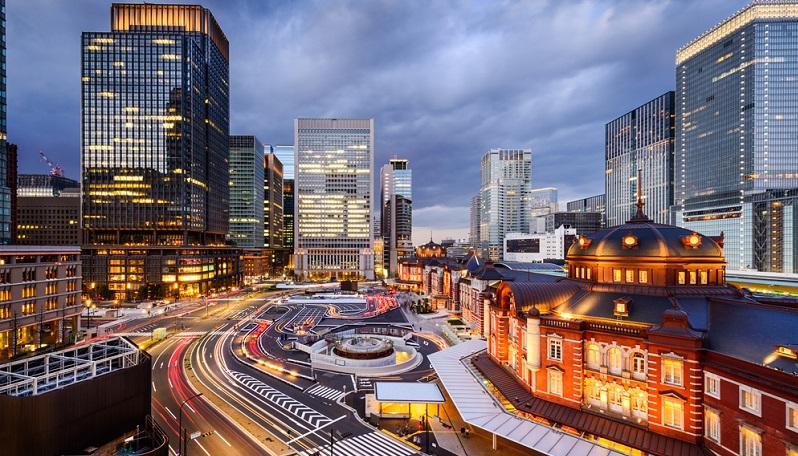 Tokio, eine der teuersten Städte der Welt, ist ein gutes Beispiel für den erhöhten Verpflegungsmehraufwand 2018.