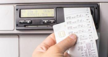 Fahren ohne Fahrerkarte: Gesetzlich nicht möglich