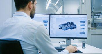 Weisser E-Mail: Große Namen des Maschinenbaus kontaktieren ( Foto: Shutterstock- Gorodenkoff )