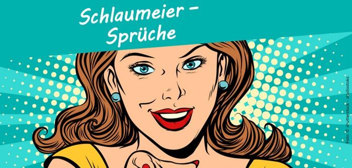 Schlaumeier-Sprüche: für WhatsApp & Co.