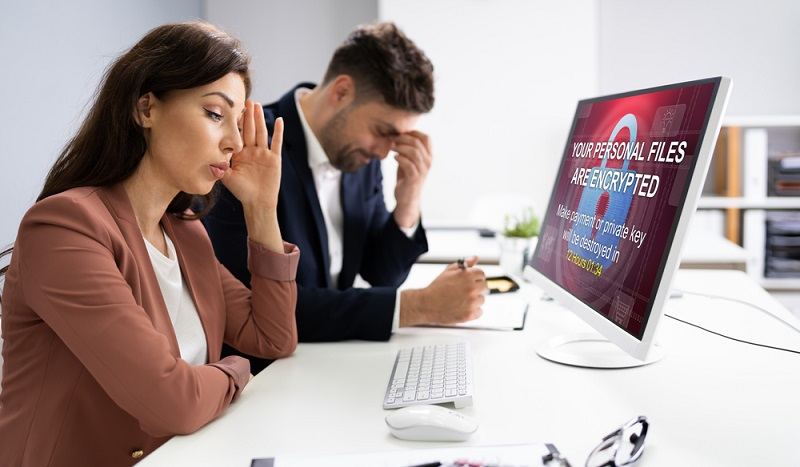 Hacker bieten nach ihrem Ransomware-Angriff an, die Daten gegen Zahlung eines Lösegelds wieder freizugeben. ( Foto: Shutterstock- Andrey_Popov )
